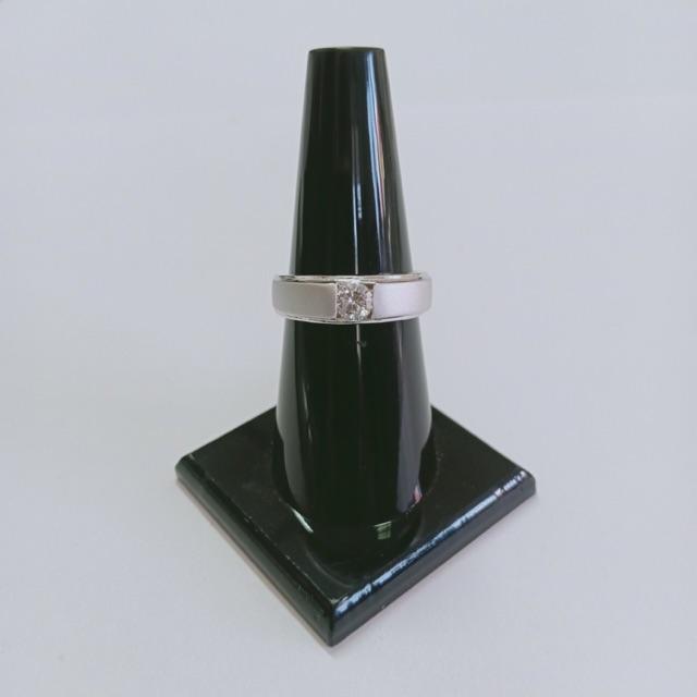 แหวน เพชร cz เล็ก ชุบซาติน ทองคำขาว ราคาพิเศษ