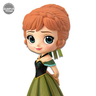 Review Banpresto Q Posket Disney Characters - Anna Coronation Style (A:Normal Color Ver) 4983164356496 (Figure)