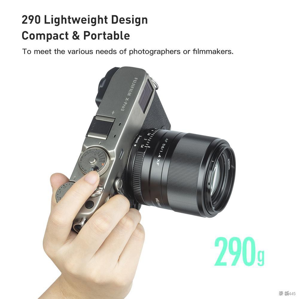Viltrox 56mm F1.4 for Fujifilm X balck silver Lens XF Large Aperture Autofocus Portrait X-T30 X-T3 X-PRO3 X-T200 X-E3 X-
