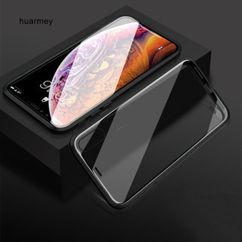 Hu เคสโทรศัพท์มือถือแบบสองด้านสําหรับ Iphone 11 / 11 Pro / 11 Pro Max