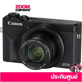 Canon PowerShot G7 X Mark III Digital Camera (ประกันศูนย์)