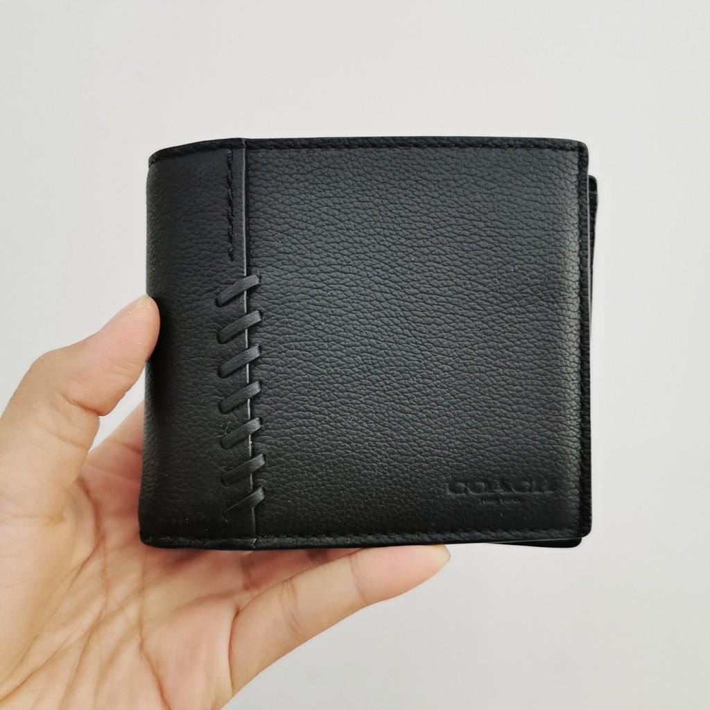 ระเบิดสหรัฐซื้อ coach กระเป๋าสตางค์ผู้ชายใบสั้น มีกระเป๋าใส่บัตร คำสั่งผสม จุดในประเทศ