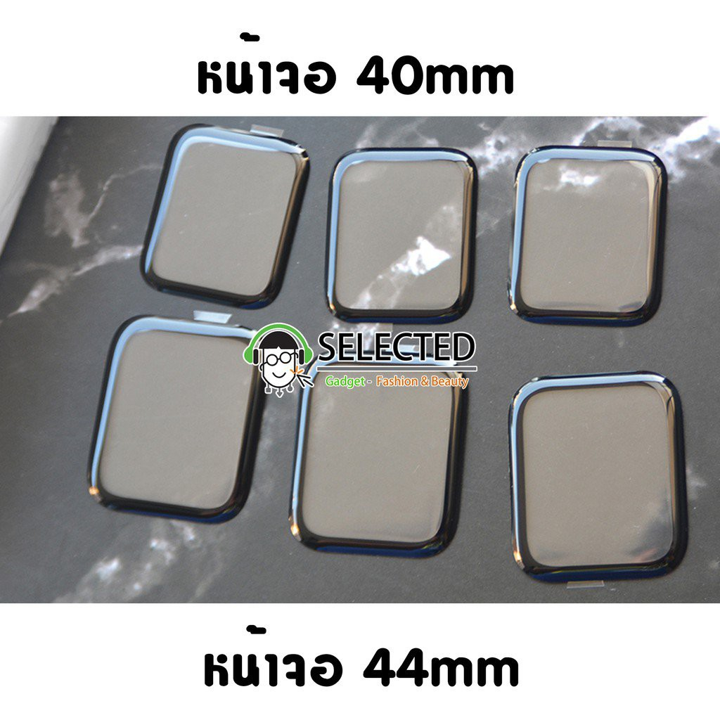 [ส่งเร็ว สต๊อกไทย] ฟิล์มกันรอย Apple watch 3D PMMA Series 6 SE 5 4 ฟิล์ม หน้าจอ Screen Protector Applewatch 49id