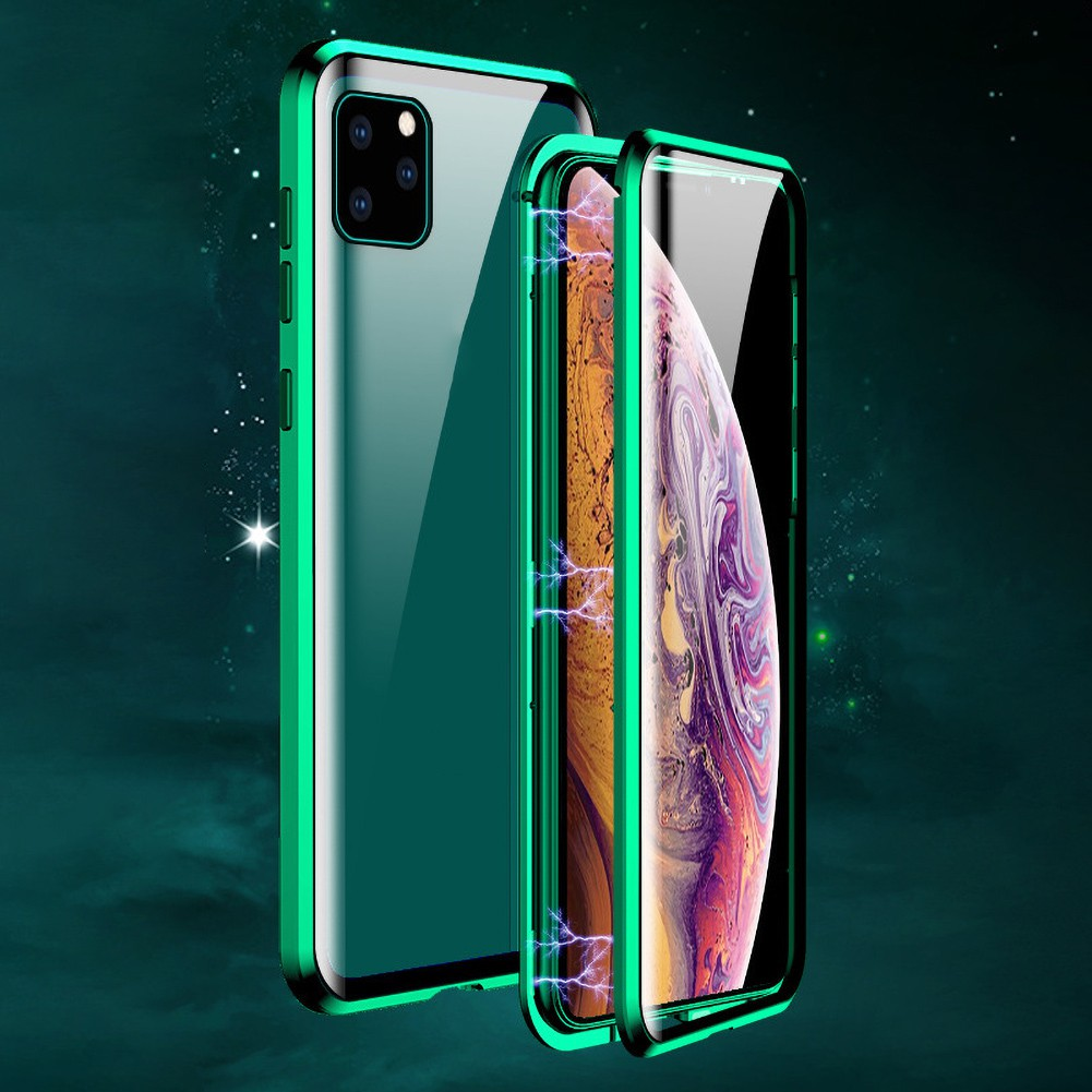 เคสโทรศัพท์มือถือแบบสองด้านสําหรับ Iphone 11 Pro Max
