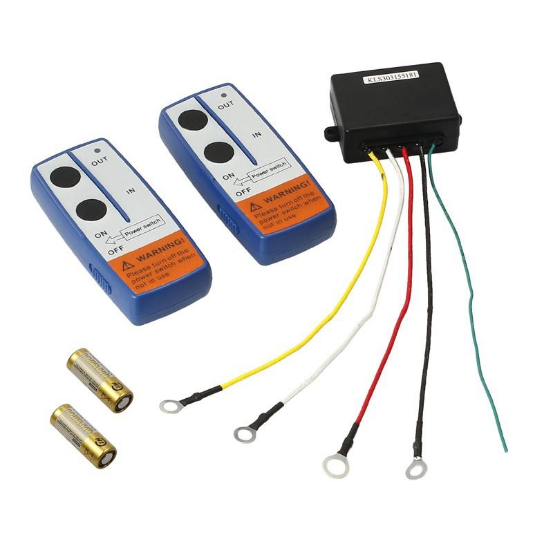 12V Winch Wireless Remote Control /& Controller Switch for Truck Jeep ATV SUV