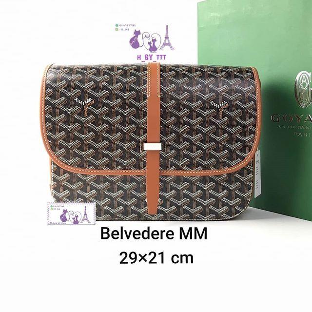 Goyard Belvedere GM Black/Tan 79,000 ฿(ไม่รวมค่าธรรมเนียม)