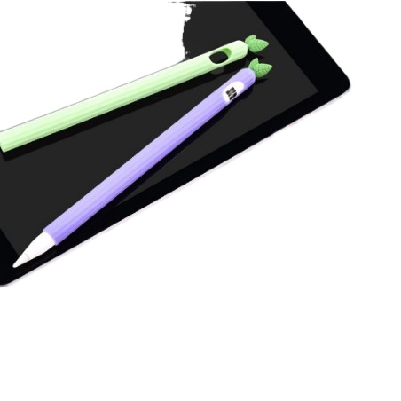 เคสปากกาซิลิโลิโคนปลอกปากกาซิลิโคน 苹果触碰笔软硅胶套 1 / 2代 ปลอกปากกาเคสซิลิโคน情况applepencilเคสปากกาเจน1เคสปากกาเจน2