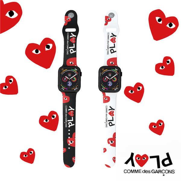 สาย applewatch Rei Kawakubo สายนาฬิกา iwatch ซิลิโคนการ์ตูน 6SE Apple นาฬิกาสาย Applewatch 6/5 รุ่น 3/4/2 บุคลิกภาพแฟชั่