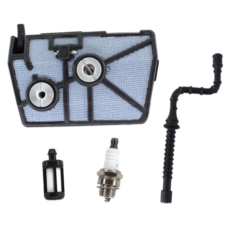 Durable Fuel Spark Plug Kit With Fuel Line Tune up For Stihl 028 028AV WB  Chainsaw Replacement Parts Tool Air filter