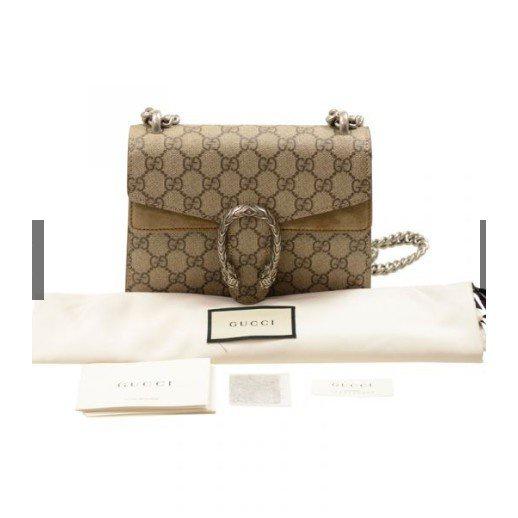 กระเป๋า Gucci / Women 2019 New Dionysus Super Mini Dionysus กระเป๋าสะพาย