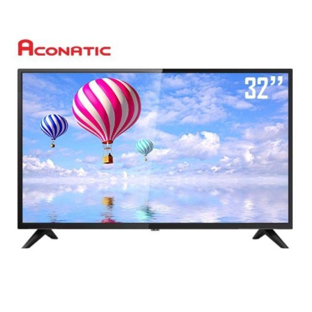 Aconatic ดิจิตอลทีวี HD  รุ่น 32HD513AN ขนาด 32 นิ้ว ไม่ต้องใช้กล่องทีวี สินค้าใหม่ ประกันศูนย์