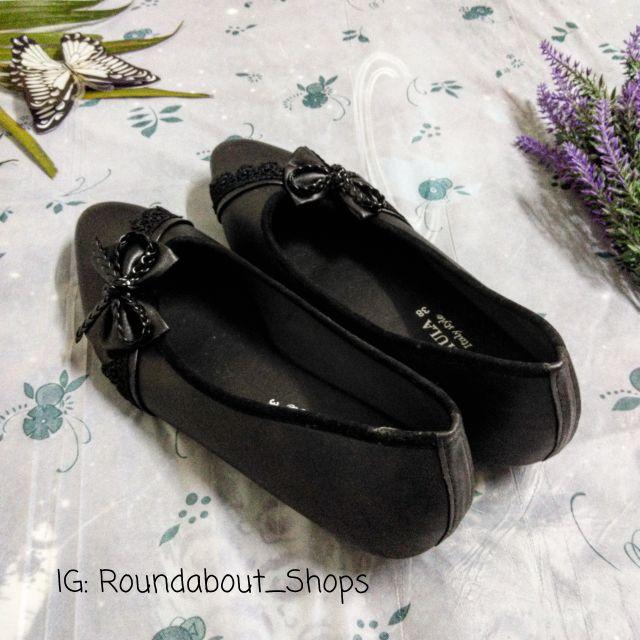 รองเท้าคัชชู สีดำ สวยๆ ใหม่กริบ
