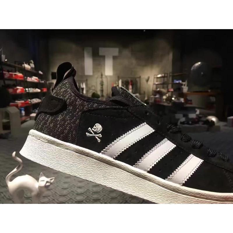 Cheap Adidas Superstar Boost Bape X Neighborhood LOWEST ASK