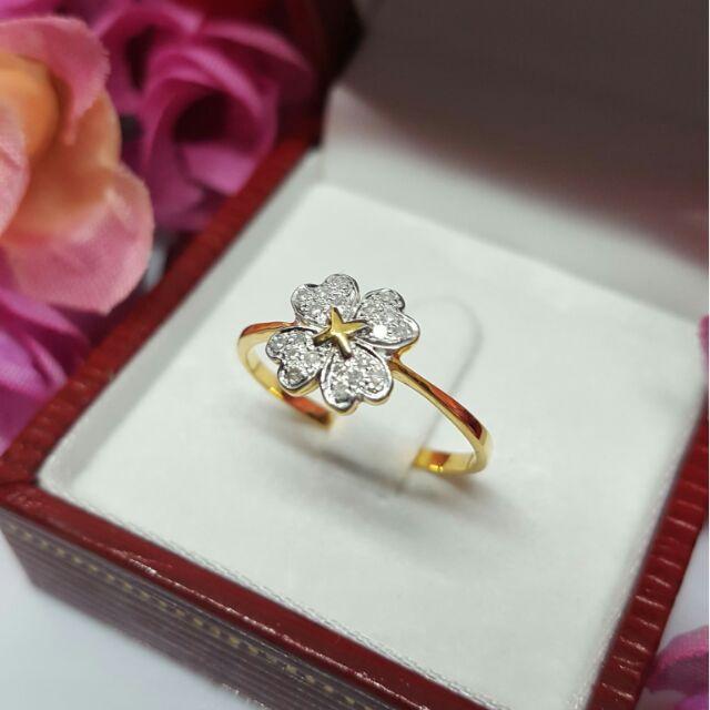 แหวนเพชรแท้ทองคำแท้ราคาดี