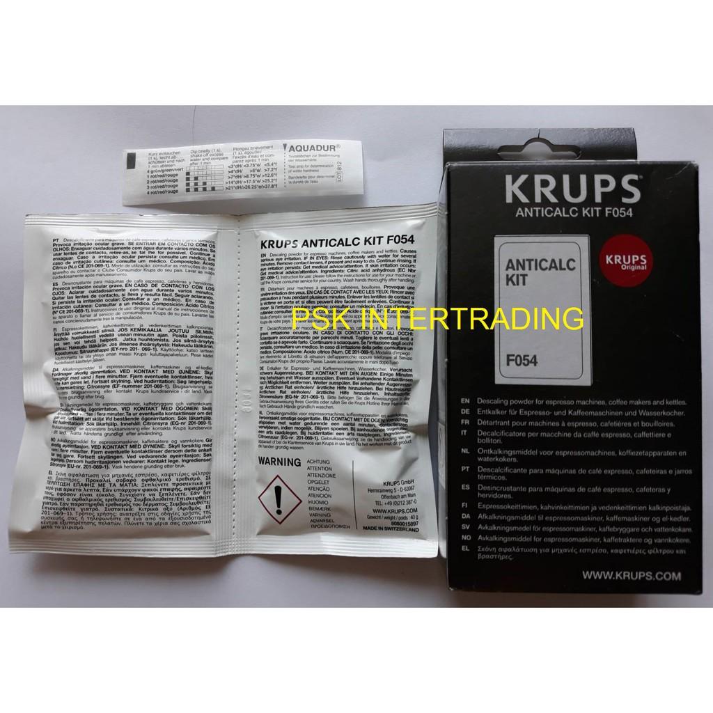 ผงล้างตะกรันเครื่องทำกาแฟ Krups  แท้แน่นอน