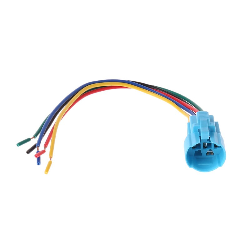 kiss*Switch Socket Plug Wire Connector For 16mm 5 Pin Push Button Switch  1NO 1NC