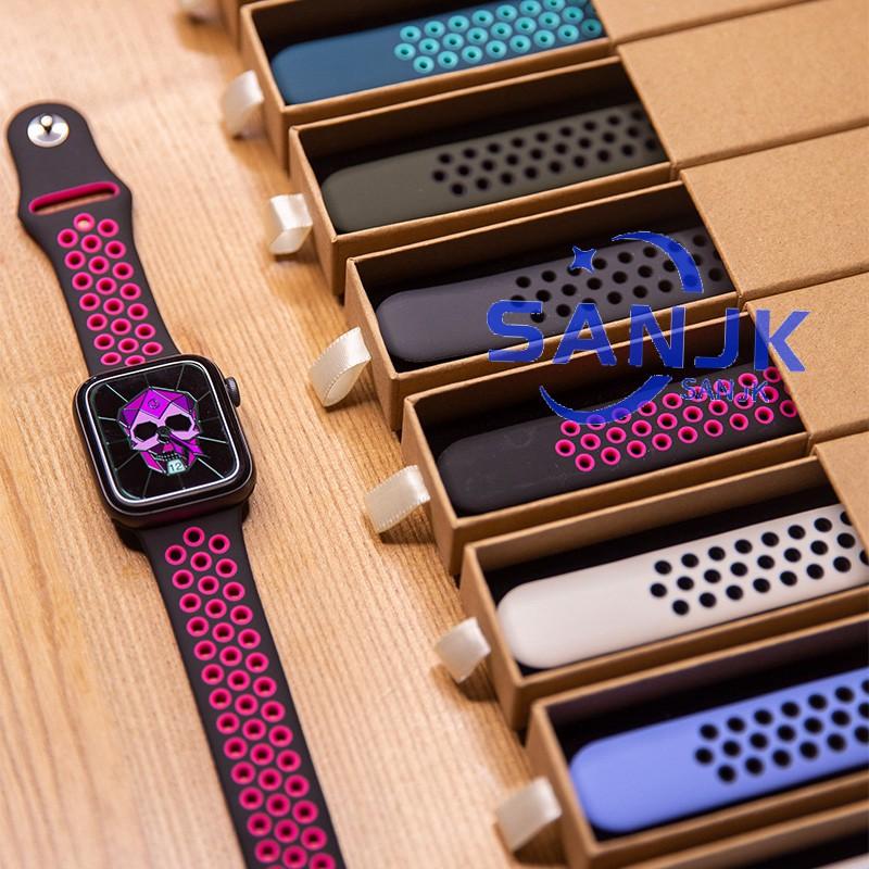 สาย apple watch nike ของ Apple Watch series5 4 3 2 1 กีฬากันน้ำขนาด 38มม 40มม 42มม 44 มม.