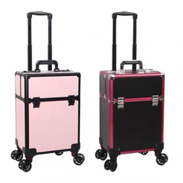 กระเป๋าเครื่องสำอาง  กระเป๋าช่างแต่งหน้าล้อลาก ช่างสัก ช่างทำเล็บ กระเป๋าเดินทาง  หิ้วขึ้นเครื่อง กระเป๋าเครื่องสำอาง