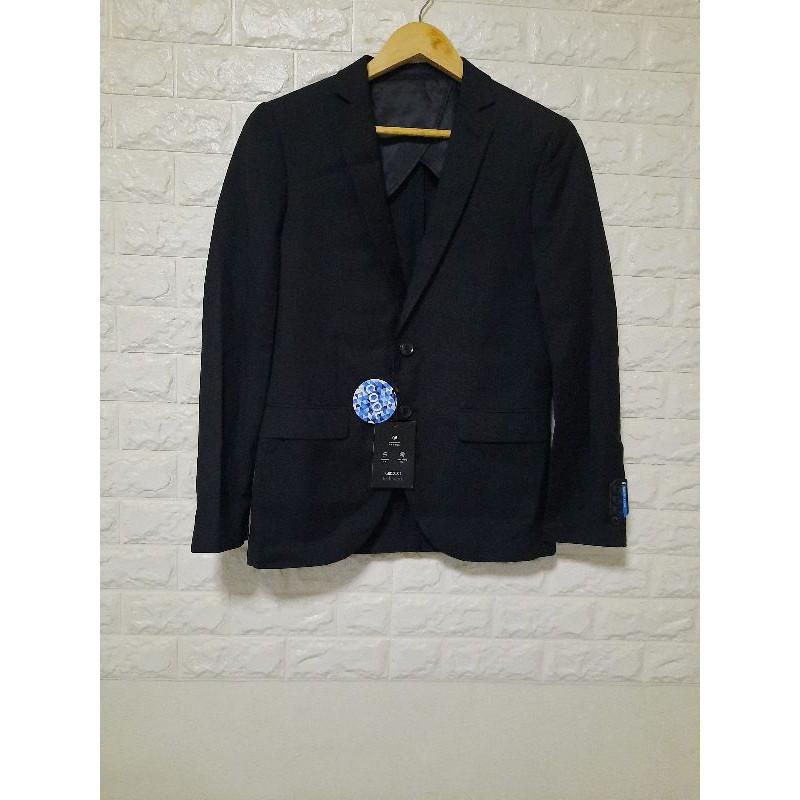 G2000 เสื้อสูทผู้ชาย Tech Work Colling ทรง Slim Fit สีดำ รหัส9511002799