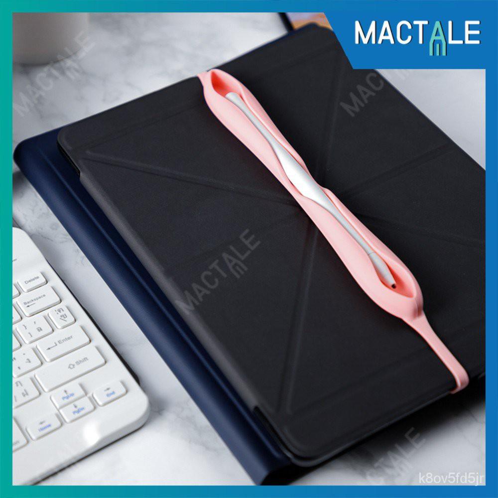 Mactale ซองปากกาซิลิโคน สายรัดเคส เก็บ Apple pencil 1, 2 case Stylus Silicone เคสปากกา ปลอกปากกา สไตลัส Cn6L