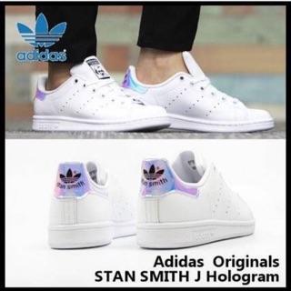 mejor servicio realmente cómodo la compra auténtico รองเท้า Adidas Stan smith j hologram ของแท้ | Shopee Thailand