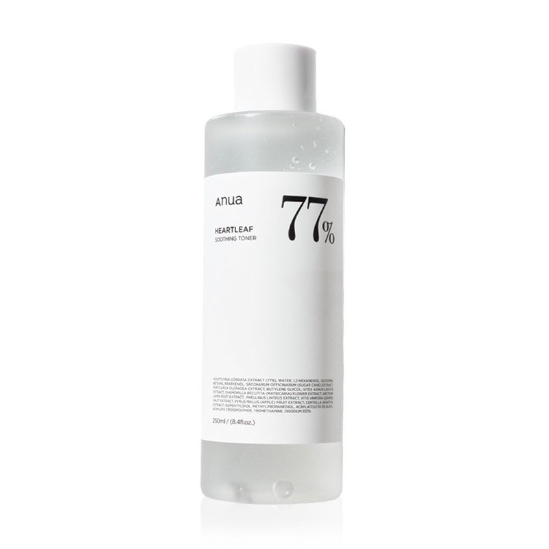 Anua Heartleaf 77% Soothing Toner 250ml
