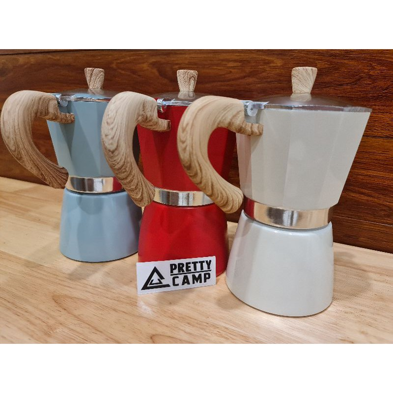 เครื่องทำกาแฟ โมก้าพอต moka pot อุปกรณ์สำหรับทำกาแฟ ที่ทำกาแฟเอนกประสงค์ กาสำหรับต้มกาแฟ ที่ทำกาแฟ กาแฟ