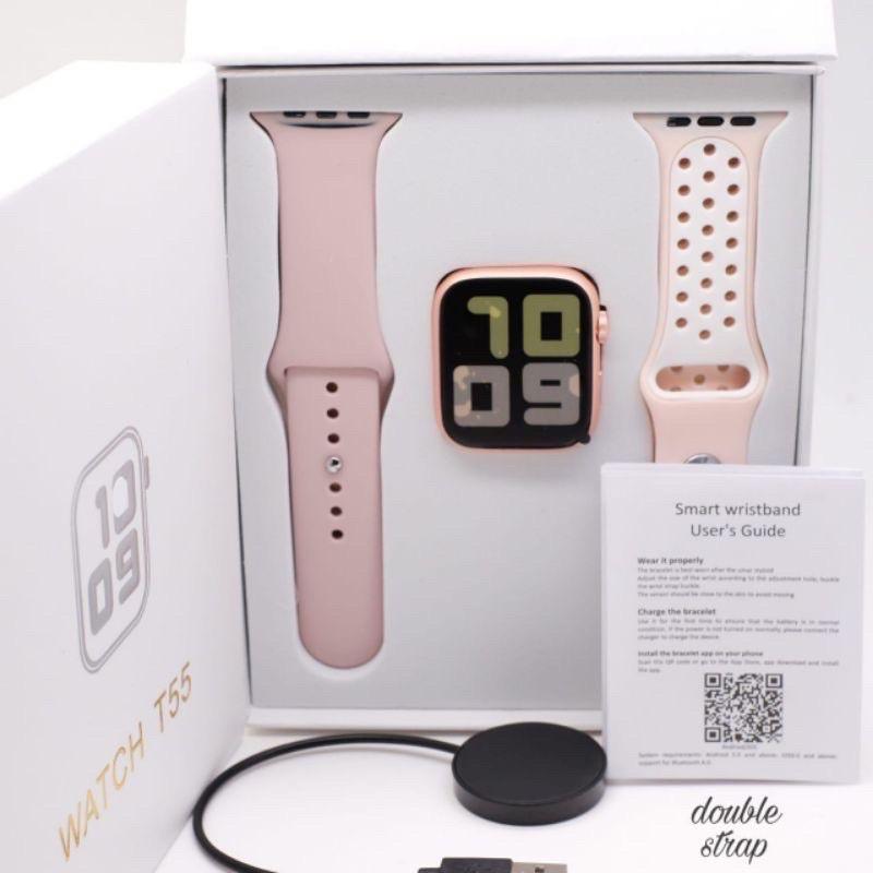 [Bisa COD] T55 Smartwatch Watch T55 Fundo pro bluetooth call model applewatch series 5