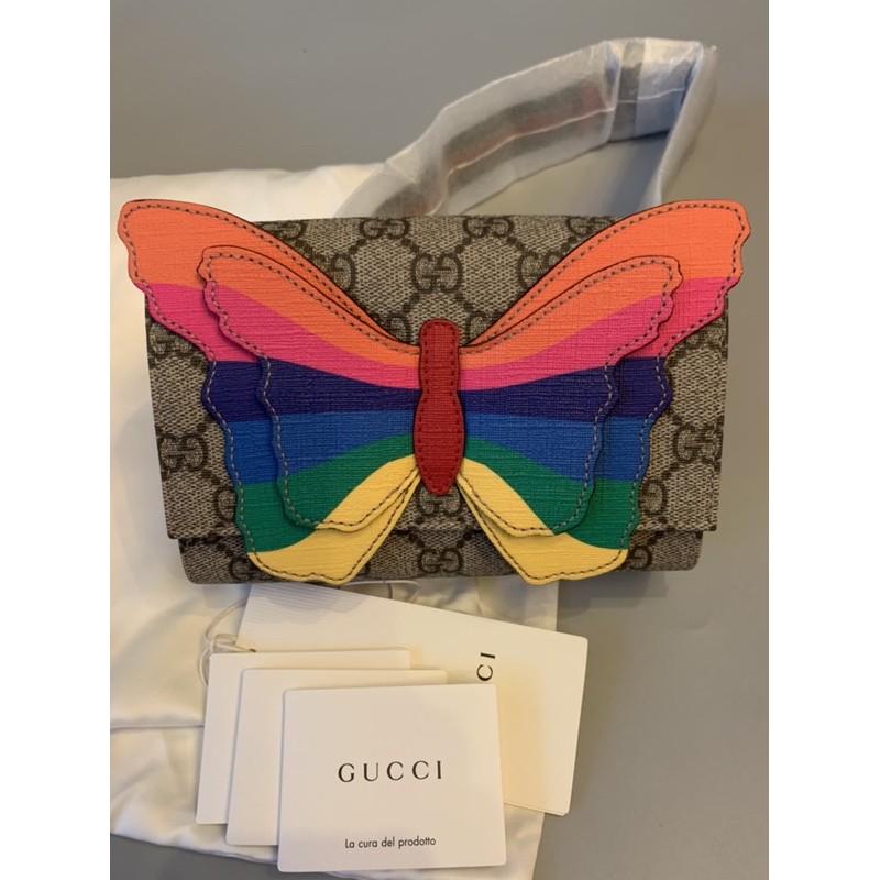 Gucci kid butterfly belt bag