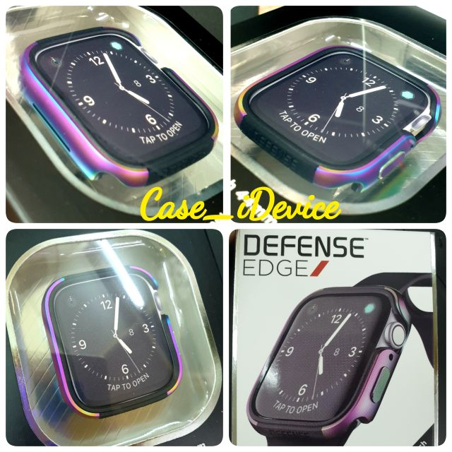 SERIES4^^สีรุ้งCase Apple Watch Defense Edge⚡️⚡️ สีรุ้ง 44/40/42/38MM ของแท้ 100%