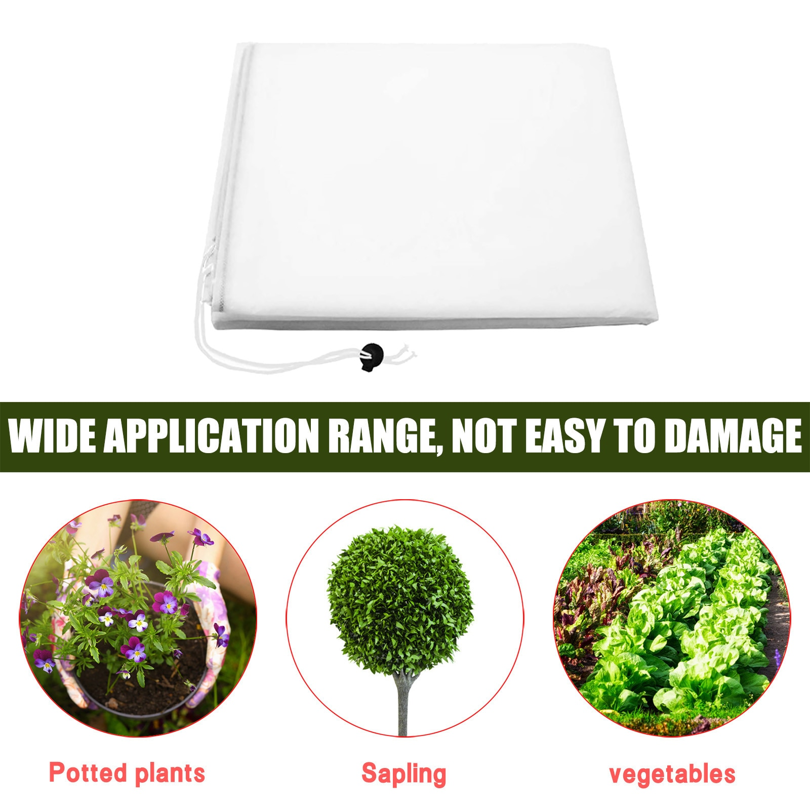 Details about  /Outdoor Warm Worth Plant Cover Tree Shrub Plant Protector Tree Protection Bag