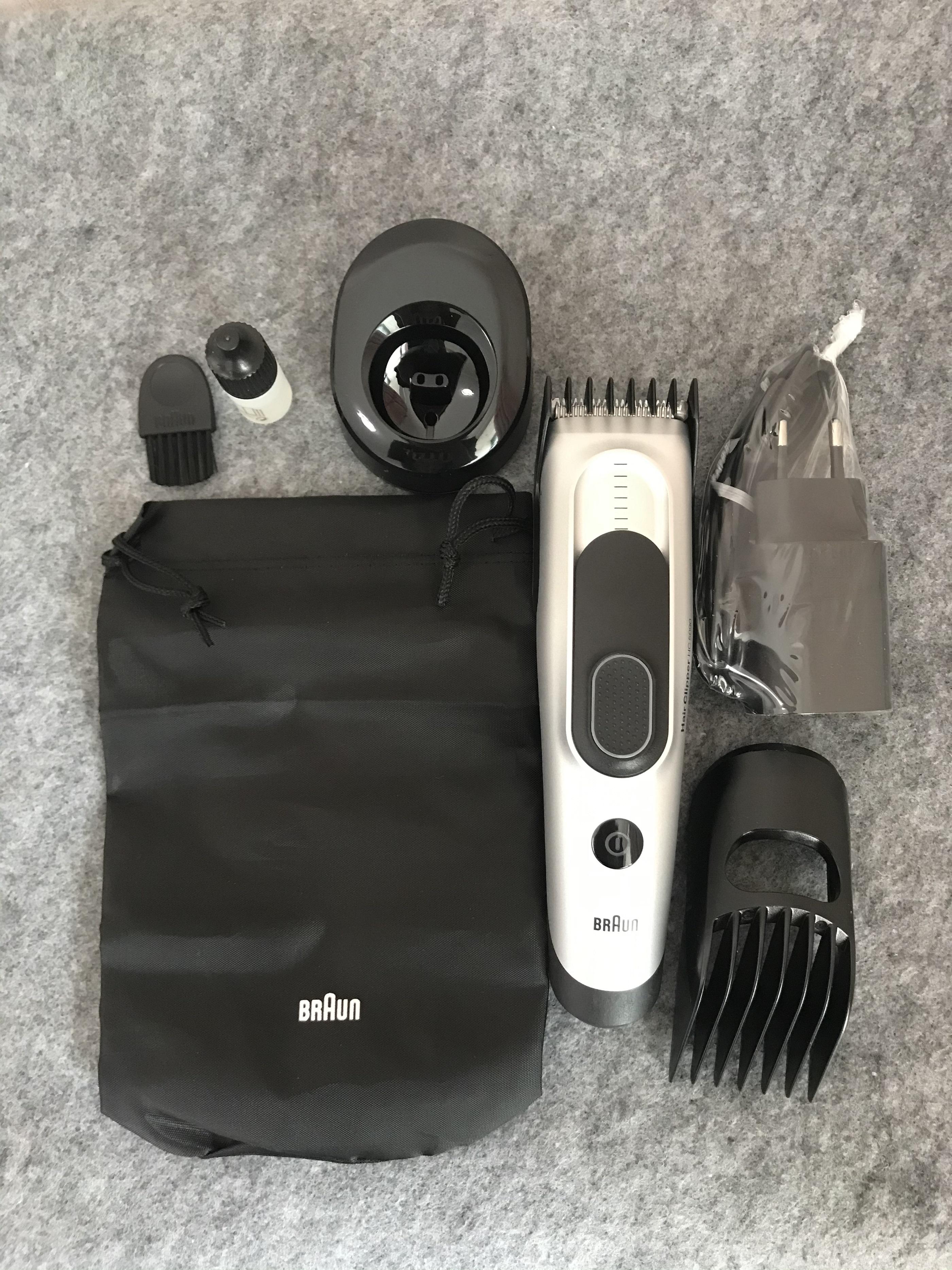 ปัตตาเลี่ยนเด็กจุดเยอรมันBraunHC5090/5010/5050Clipperผมไฟฟ้าผู้ใหญ่เด็กมีดโกนเด็ก ioTv