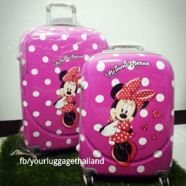 กระเป๋าเดินทาง Disney ของแท้100% size24นิ้ว