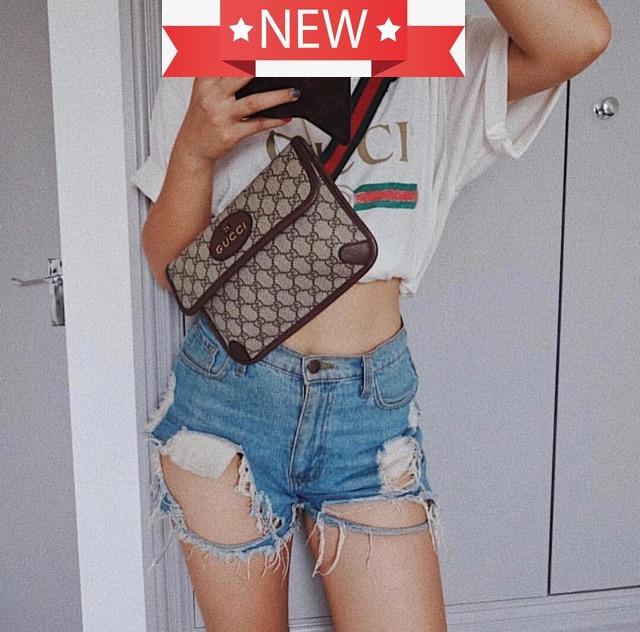 New Gucci supreme belt bag รุ่นแพท