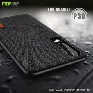 Review MOFI Casing Huawei P30 Pro Lite P 20 P 10 Plus Nova 4E Case Soft Silicone Fiber Shockproof Cover เคสโทรศัพท์มือถือ
