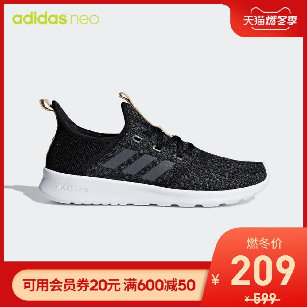 adidas shoesเว็บไซต์อย่างเป็นทางการของ Adidas adidas neo CLOUDFOAM PURE รองเท้าผ้าใบลำลองสตร