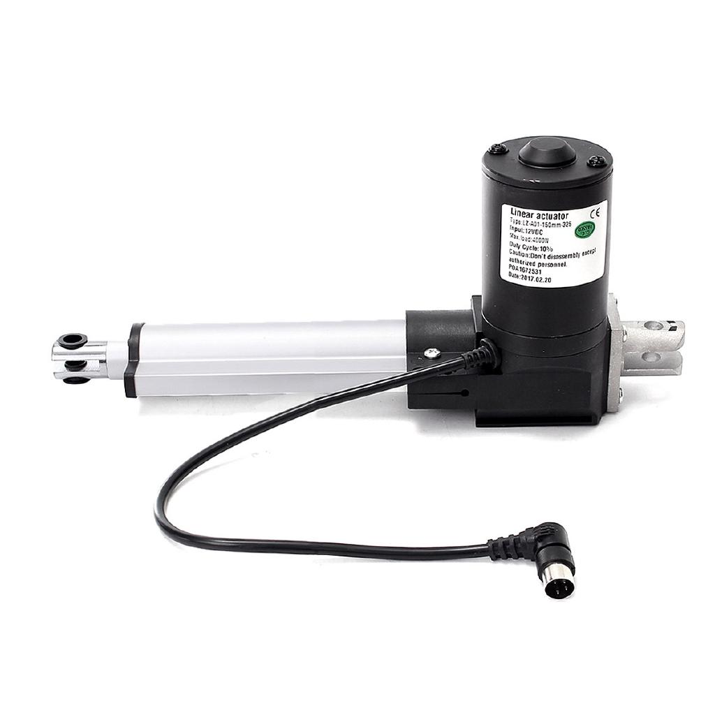 Linear Actuator Motor DC 12V 24V 6000N 25~200mm Adjustable Electric Door Opener
