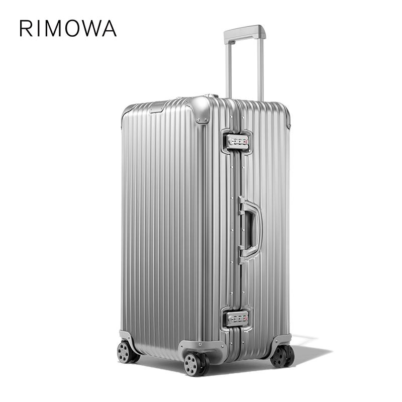 Υ♁Rimowa/rimewa original33นิ้วรถเข็นกระเป๋าเดินทางขึ้นเครื่องร้านเรือธงอย่างเป็นทางการ