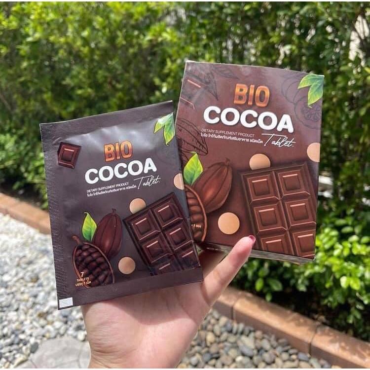 Bio Cocoa Tablet ไบโอ โกโก้ ดีท็อกซ์ เม็ดเคี้ยว