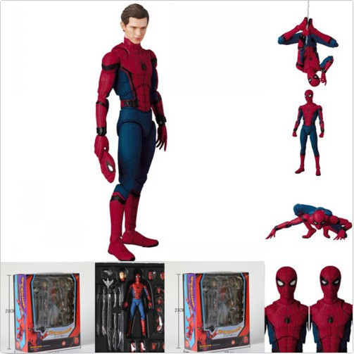 MAFEX SPIDER-MAN HOMECOMING VER ACTION FIGURE MARVEL