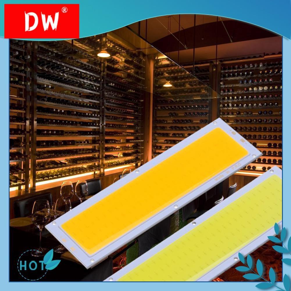 [hot] ♤DISKON💝12V 10W ซังแผงไฟ LED Strip ไฟโคมไฟหลอดไฟ 120X36mm อบอุ่นสีขาว / ขาว❋
