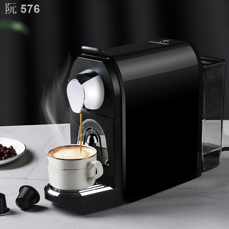 ❉เครื่องชงกาแฟแคปซูลอัตโนมัติเต็มรูปแบบ เครื่องทำฟองนมอิตาลีขนาดเล็กที่บ้าน เครื่องชงกาแฟขนาดเล็กบดสด การทำงานในสำนักงาน