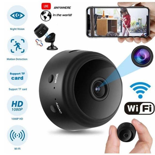 กล้องวงจรปิดไร้สาย Wifi IP HD 1080 P กล้องจิ๋ว   กล้องแอบถ่าย WiFi ดูผ่านมือถือได้