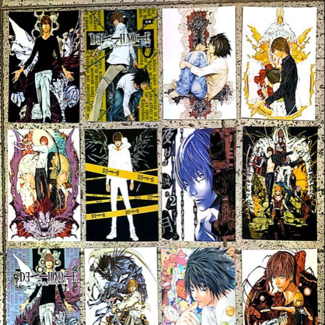 โปสการ์ด เดทโน๊ต Death Note มือ1 16 ใบ