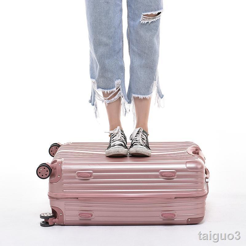 ☎♝✖ผู้มีชื่อเสียงในเครือข่ายรถเข็นล้อสากลหญิง 28 กระเป๋าเดินทาง 24 กระเป๋านักเรียน 26 กล่องรหัสผ่าน 20-inch cabin suitc