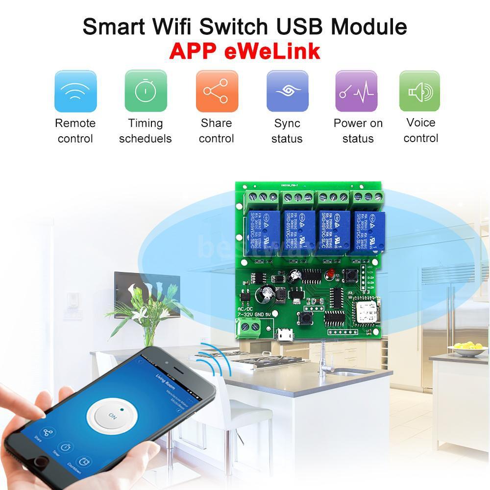 eWeLink Smart Remote Control Wireless Switch Universal