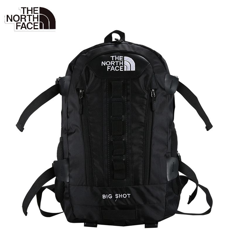 TNF(THE NORTH FACE) กระเป๋าเป้ผู้ชายและผู้หญิง กำลังการผลิตขนาดใหญ่กลางแจ้ง +++ รับประกันของแท้ 100% +++