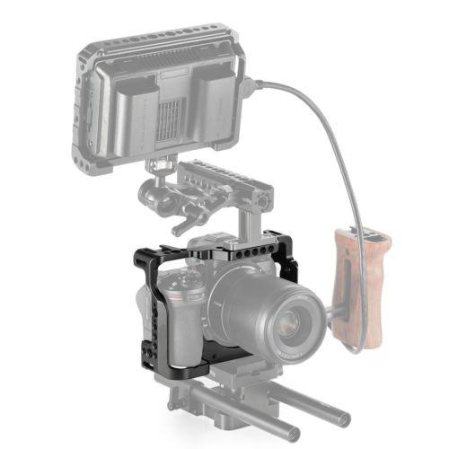 SMALLRIG Z7 Cage for Nikon Z6 Cage with Built-in NATO Rail and Anti-Twist Design Z7 2243