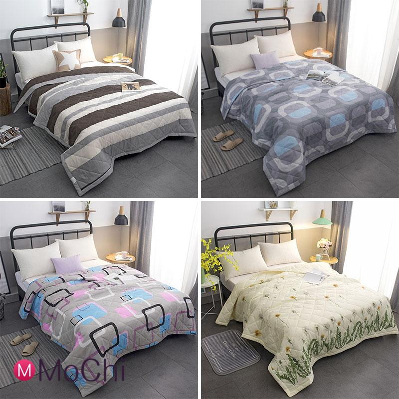Single Anti Microbial Bedspread Summer