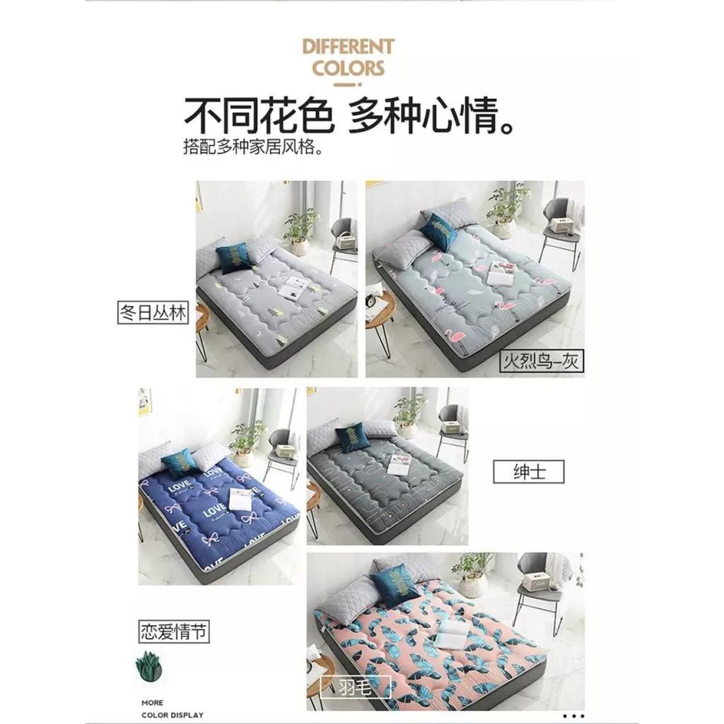 ที่นอน topper topper 5 ฟุต แผ่นรองนอน ที่รองนอน ที่นอนท็อปเปอร์ Topper หนานุ่ม ขนาด5-6ฟุต เบาะรองนอน ความหนา3.5ซม. ocain